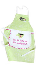 Maid Simple Heart Design Apron